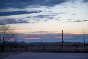 Marfa, TX landscape